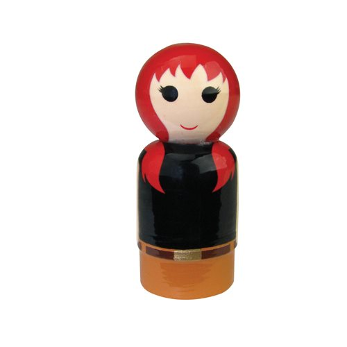 Mary Jane Pin Mate Wooden Figure
