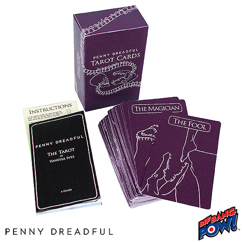 Penny Dreadful Tarot Cards - Boxed Set of 78