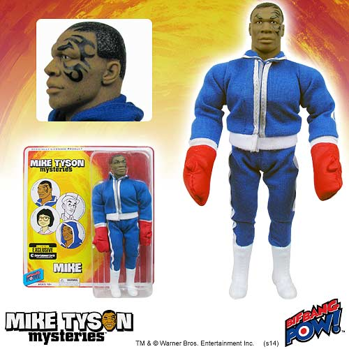 Mike Tyson Mysteries Mike Tyson 8-Inch Figure-Con. Exclusive