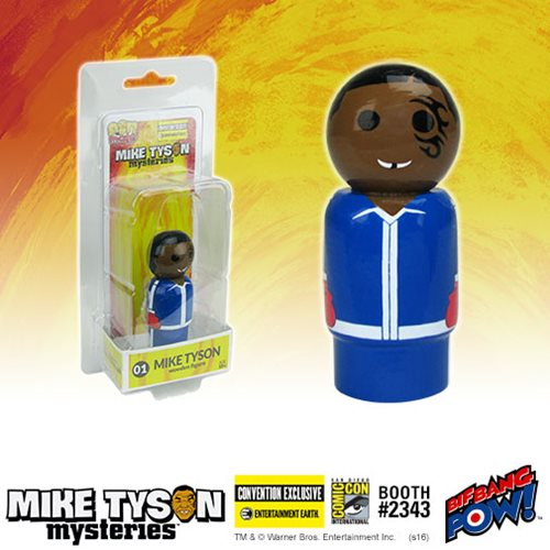 Exclusive Mike Tyson Pin Mate(TM) at SDCC 2016