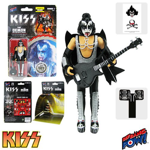 Rare KISS Love Gun The Demon Bloody Variant!