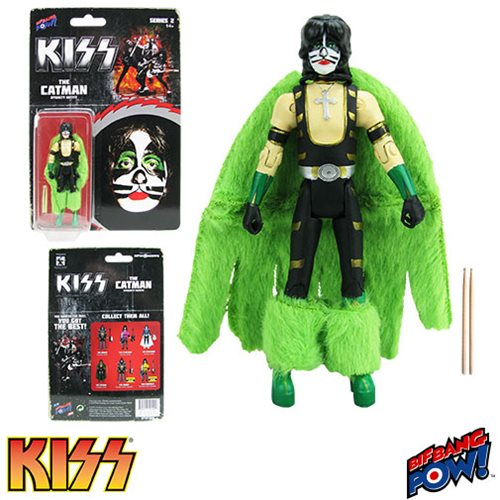 KISS Dynasty The Catman 3 3/4-Inch Action Figure