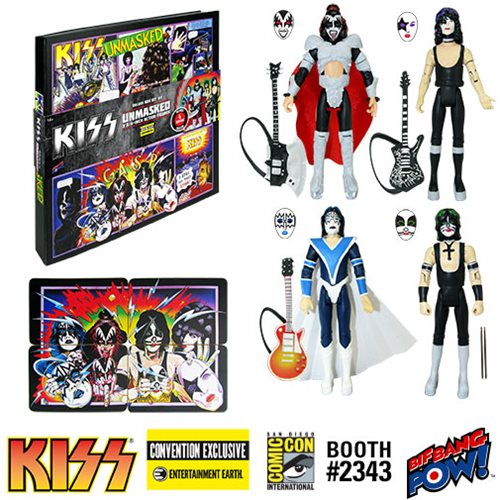 KISS Convention Exclusive Is Unmasked!