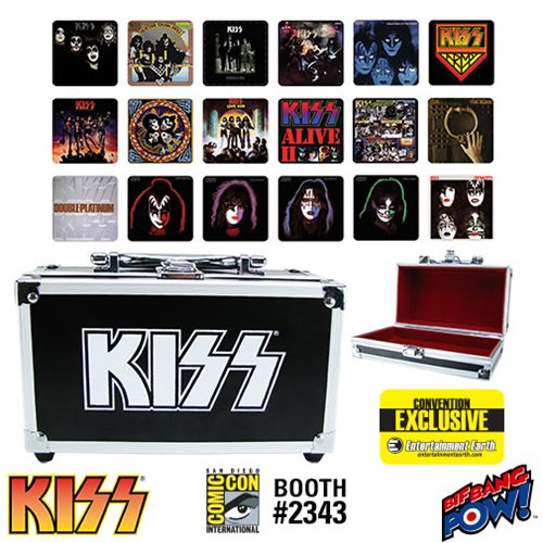 Pull the Trigger on New KISS Coaster Set Convention Exclusive