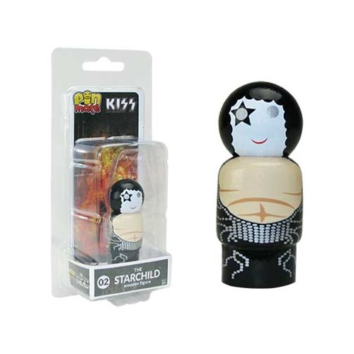 KISS Destroyer The Starchild Pin Mate Wooden Figure
