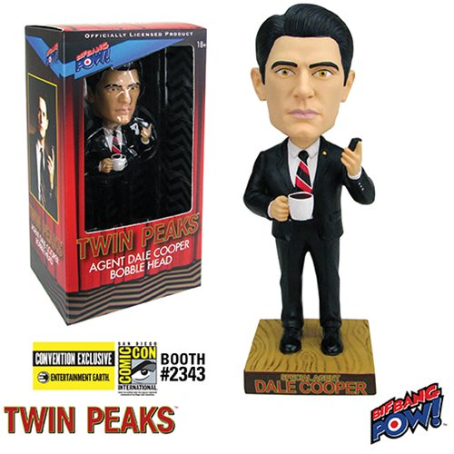 Twin Peaks Agent Cooper Bobble Head - Convention Exclusive