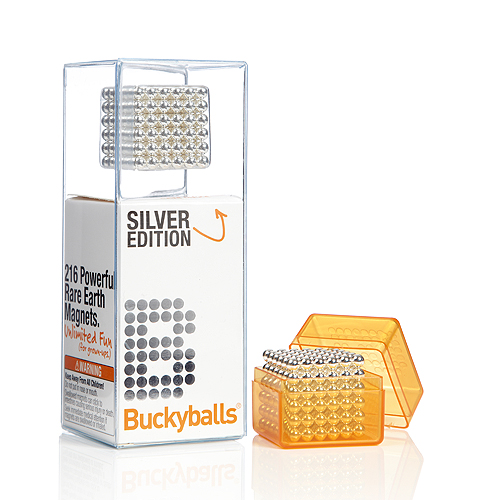 Buckyballs Silver Edition Magnetic Toy