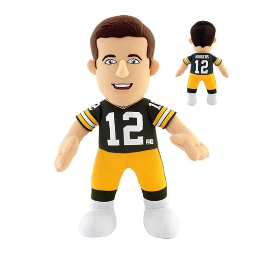 NFL Green Bay Packers Aaron Rodgers 10-Inch Plush Figure