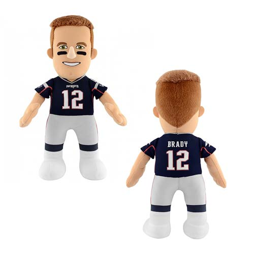 NFL New England Patriots Tom Brady 10-Inch Plush Figure