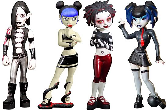 Bleeding Edge Goths 7-inch Series 2 Set