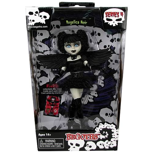 Bleeding Edge Goths Angelica Noir 7-Inch Series 4 Figure
