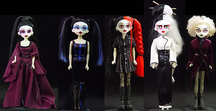Bleeding Edge Goths 12-inch Series 2 Set