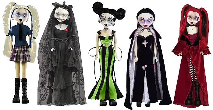 Bleeding Edge Goths 12-inch Series 3 Set