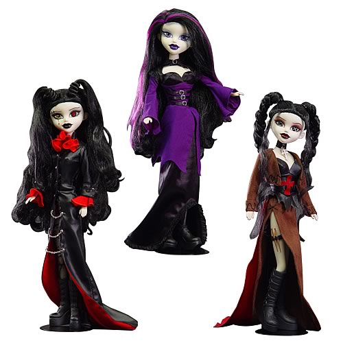 Bleeding Edge Goths Series 6 12-Inch Fashion Dolls Set