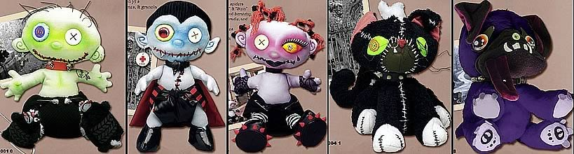 Kindergoths 14 inch Plush Case