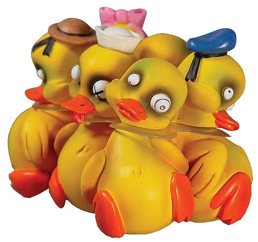 Tub-Tastrophes - Six Pwak of Ducks