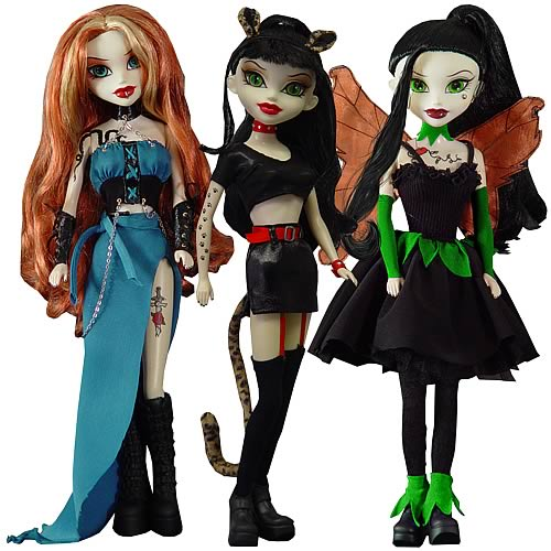 Bleeding Edge Goths Series 7 12-Inch Fashion Dolls Set