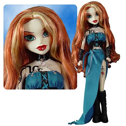 Bleeding Edge Goths Series 7 Atara Inferno Doll