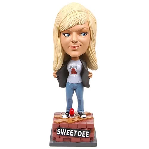 It's Always Sunny Dee Series 2 Talking Bobble Head