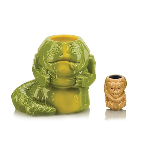 Star Wars Jabba Geeki Tikis Mug with Bib Fortuna Muglet