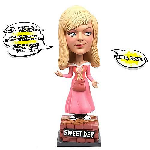 It's Always Sunny in Philadelphia Dee Talking Bobble Head