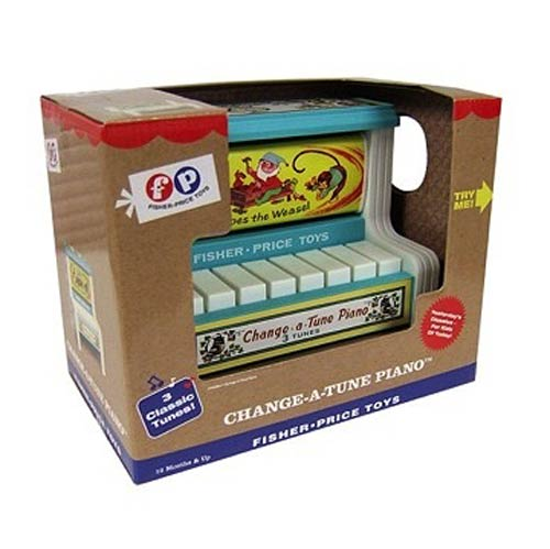 Fisher-Price Retro Toy Change-a-Tune Piano