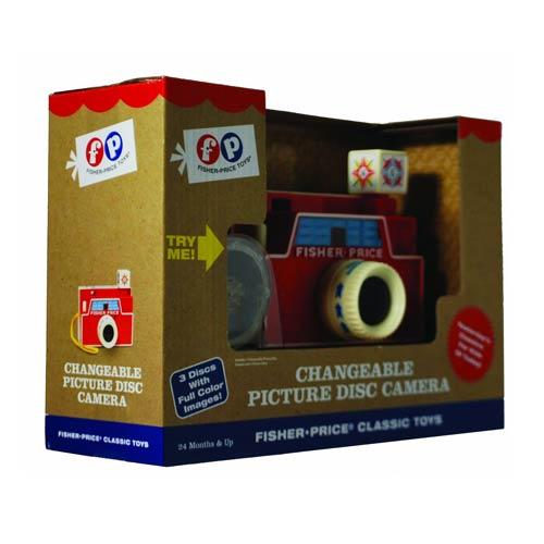 Fisher-Price Retro Toy Changeable Picture Disk Camera