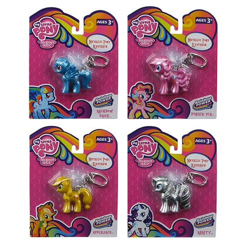 My Little Pony Rainbow is Magic Metal Key Chain Set