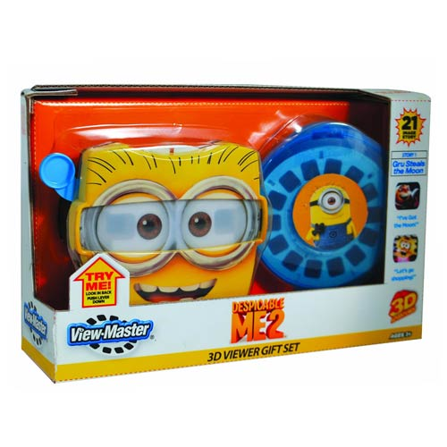Despicable Me 2 Gru Steals the Moon View Master Gift Set