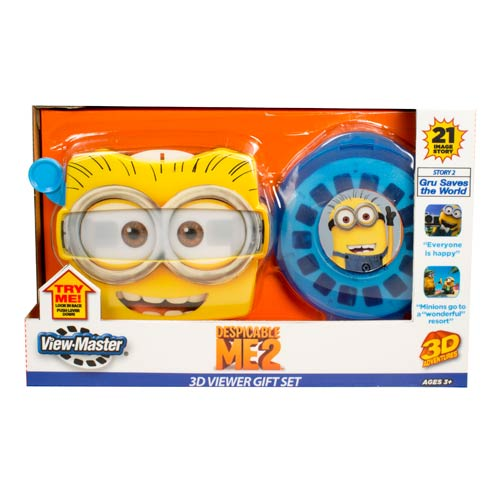 Despicable Me 2 Gru Saves the World View Master Gift Set