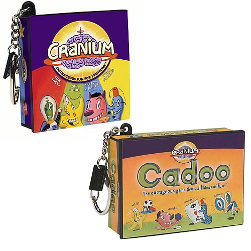 Cranium Games Key Chain Set