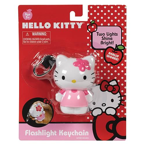Hello Kitty Flash Light Key Chain
