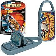 Battleship Carabiner Travel Game