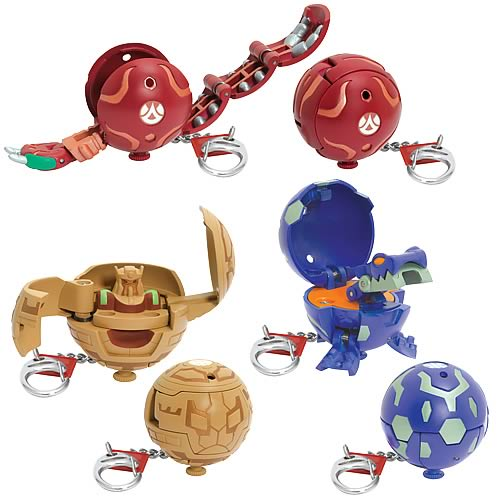 Bakugan Mega Key Chains Series 3 Set