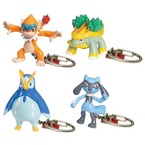 Pokemon Series 18 Keychain Set