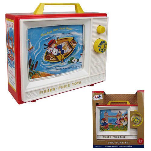 Fisher-Price Classic Two Tune TV