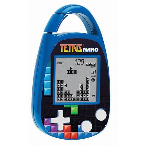 Tetris Electronic Carabiner Key Chain