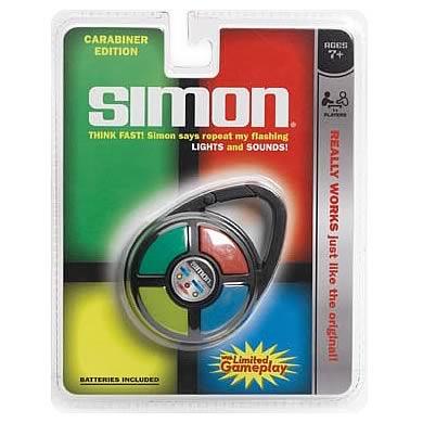 Simon Electronic Carabiner Key Chain