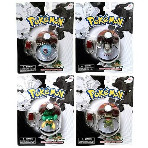 Pokemon Series 24 Key Chain Set