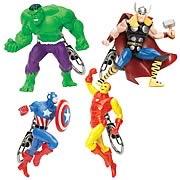 Marvel Avengers Extreme Figural Key Chain Case