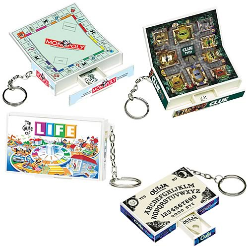 Board Games Key Chains Series 1 Assortment Case