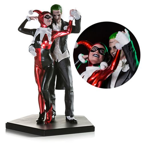 Suicide Squad Harley Quinn and the Joker 1:10 Scale Statue