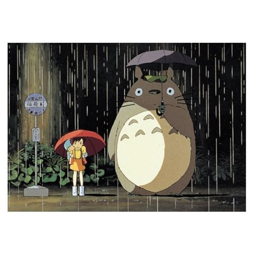 My Neighbor Totoro Rain Bus Stop Petite Puzzle