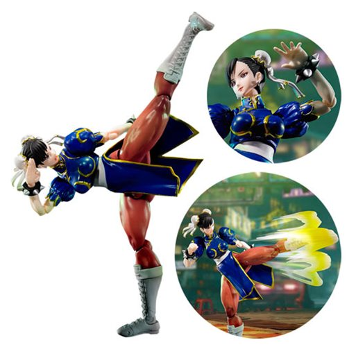 Street Fighter V Chun Li SH Figuarts Action Figure