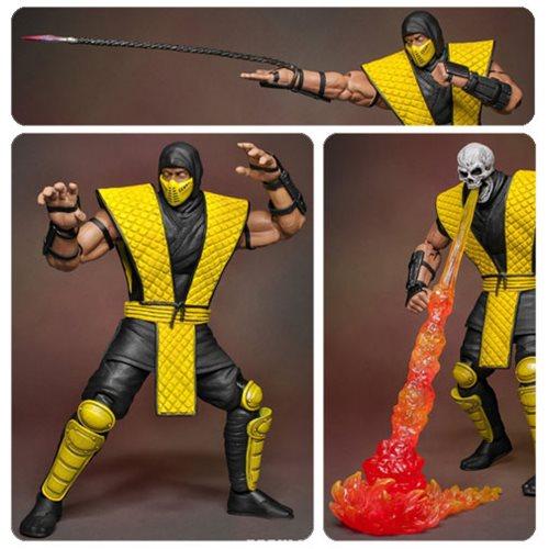 Mortal Kombat Scorpion 1:12 Action Figure
