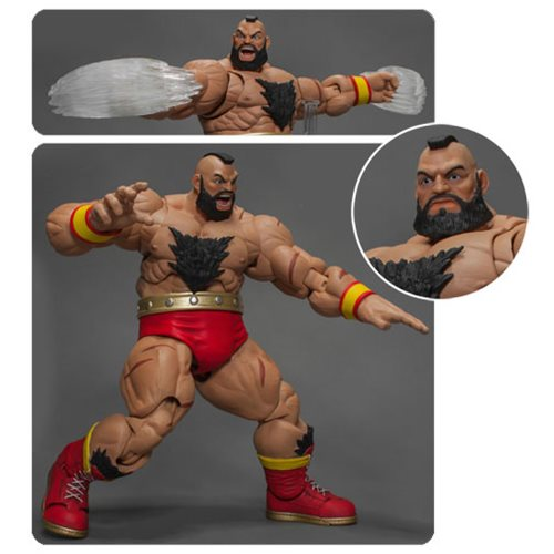 Street Fighter V Zangief 1:12 Scale Action Figure