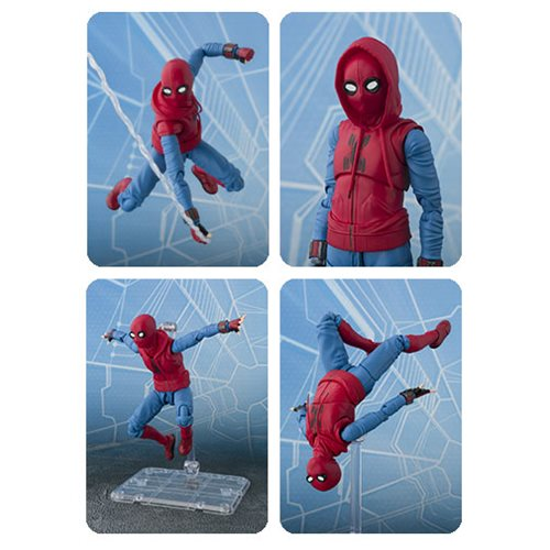 Spider-Man: Homecoming Spider-Man Homemade Suit SH Figuarts Action Figure