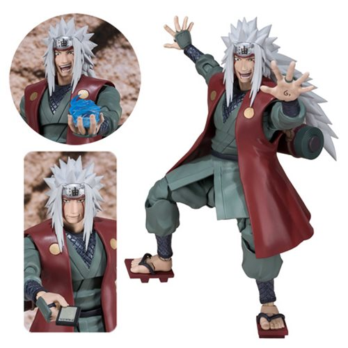 Naruto Jiraiya SH Figuarts Action Figure P-Bandai Tamashii Exclusive