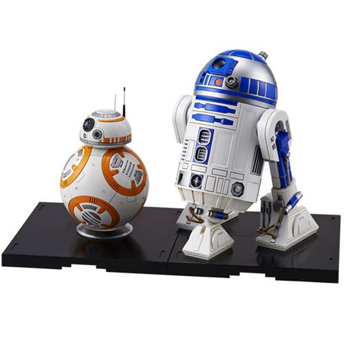 Star Wars BB-8 and R2-D2 1:12 Scale Model Kit Set