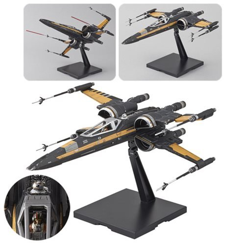 Star Wars: The Last Jedi Poe Boosted X-Wing 1:72 Scale Kit